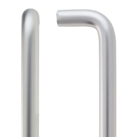 Zoo Hardware ZCAD300BSA Pull Handle 300mm x 19mm Satin Anodised Aluminium